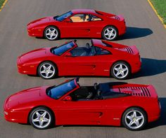 F355 series, the most beautiful Ferrari to me.