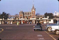 Disneyland Entrance, 1960