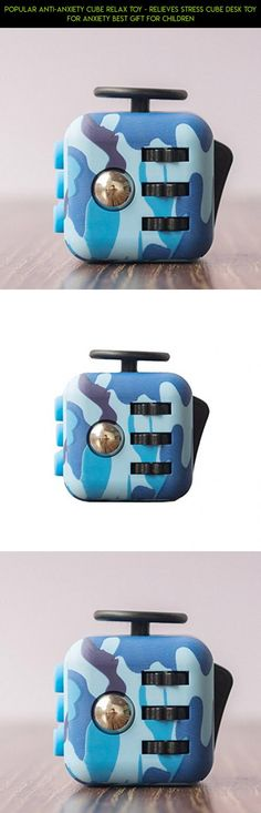 Popular Anti-Anxiety Cube Relax Toy - Relieves Stress Cube Desk Toy for Anxiety Best Gift for Children #fpv #technology #cube #shopping #products #parts #fidget #camera #tech #gadgets #racing #blue #drone #kit #plans