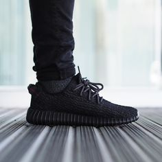 BLACKOUT YEEZY BOOST 350 by Kanye West