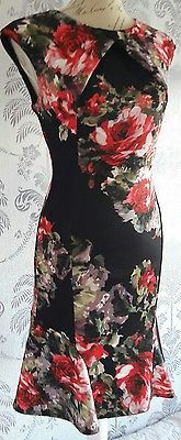 phase eight size eight floral dress size 8.