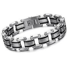 Titanium Chain Bracelets
