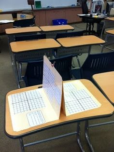 love this idea of using File Folders! The Teacher Who Hated Math: Lovin' My Stations!I love this idea of using File Folders! The Teacher Who Hated Math: Lovin' My Stations! Math Teacher, Math Classroom, Teaching Math, Teaching Geometry, History Classroom, Math Strategies, Math Resources, Algebra Activities, Maths 3e