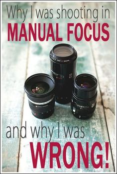 Why I was shooting lens manual focus and why wrong - Makinze Muinzer - Shooting on auto allows the camera to preset a focus. I always keep mine on auto focus, and then change it accordingly to what I actually want in focus Photography Lessons, Photography Camera, Photoshop Photography, Photography Business, Photography Tutorials, Love Photography, Digital Photography, Photography Basics, Inspiring Photography