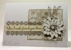 The Stampin' Schach Lesson of the Month...It's Like Stampin' with Me in My Kitchen - The Stampin' Schach