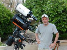 Billion Planets Astronomy and Art: Celestron CGEM-800 Telescope