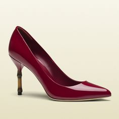 "Gucci Kristen Patent Leather Pump                   ""RED' the perfect color"