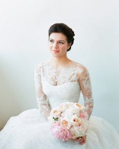 Casey Wilson and David Caspe's California Wedding - The Bridal Gown