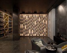 Интерьеры загородной резиденции 1000 м. в Тбилиси, Архитектурное бюро Александры Федоровой
