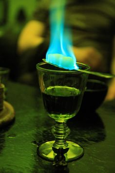 Bucket list idea is to brew absinthe, I want to see fairies and get hammered on this. It's hypnotic looking