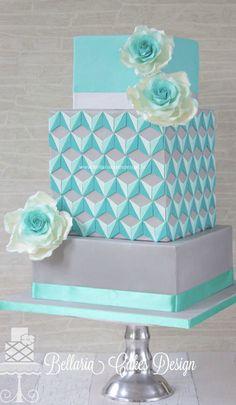 Escher in Summertime Cake