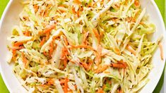 - Tangy Horseradish Coleslaw - with mustard seeds, grainy mustard and horseradish. Coleslaw With Horseradish Recipe, Horseradish Recipes, Low Carb Coleslaw, Coleslaw Mix, Apple Cider Vinegar Coleslaw, Tangier, Summer Salads, Food To Make