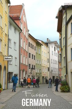 Füssen, Germany | #travel #germany #bavaria