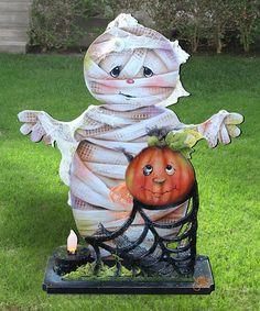 Halloween Lawn Decorations, Halloween Yard Art, Halloween Wood Crafts, Outdoor Halloween, Outdoor Christmas Decorations, Halloween Themes, Fall Halloween, Outdoor Decorations, Halloween Clay