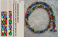 hapishane isi boncuk dizilis sablonlari - Watch - Ideas of Watch - hapishane isi boncuk dizilis sablonlari Crochet Bracelet Pattern, Bead Crochet Patterns, Bead Crochet Rope, Beading Patterns, Bead Jewellery, Seed Bead Jewelry, Beaded Jewelry, Bead Earrings, Seed Beads
