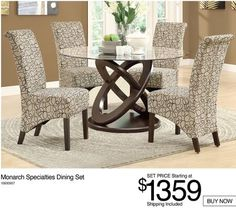 Shared from Flipp: Monarch Specialties Dining Set in the Lowe's flyer