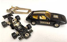vintage Corgi Toys John Player Special Texaco F1 Lotus Elite tm car trailer 1:36 #CorgiToys #Lotus