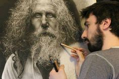 Emanuele Dascanio, graphite drawing. This is so amazing. I think making something that looks real without being real is truly art...