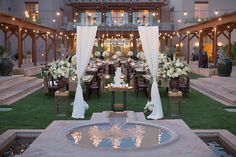 dinner setup. Some Like It Classic - Wedding Design - Wedding Planner Scottsdale, AZ | PORTFOLIO