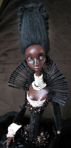 Onyx a unique art doll by tirelessartist on Etsy