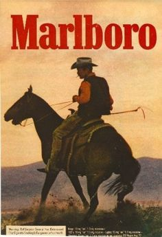 Art Can Be Made Naps May Be Had — 1973 Marlboro Man Ad Cigarette Advertisement.