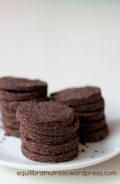 oreo galletas veganas vagetarianas chocolate sin horno Oreo Vegan, Dairy Free Recipes, Vegan Recipes, Good Foods For Diabetics, Chocolate, Healthy Sweets, Sin Gluten, Going Vegan, Healthy Desserts