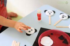 dzień pluszowego misia miś panda kukiełka Slime Craft, Crafts, Manualidades, Handmade Crafts, Craft, Arts And Crafts, Artesanato, Handicraft