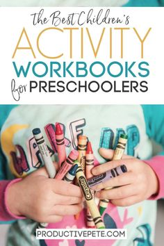 These Activity Workbooks for Preschoolers are a great way to continue learning at home while also ke Sensory Activities Toddlers, Hands On Activities, Infant Activities, Toddler Preschool, Preschool Activities, Learning Letters, Kids Learning, Printable Math Games, Kindergarten Prep