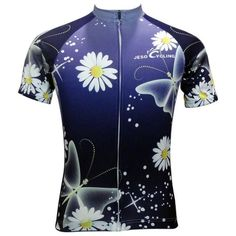 2954140c1 JESOCYCLING New Floral Women s Short Sleeve Cycling Jersey  Sz S-3XL  (6  Colors)