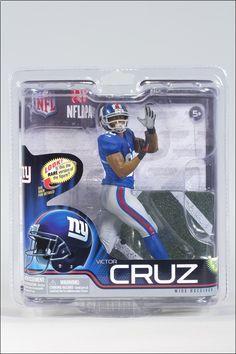 cd98ca8aa McFarlane NFL Sports Picks Series 31 Victor Cruz Action Figure  Blue Jersey   Ship for  7.99