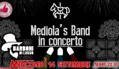 Mediola's Band In Concerto @ Barboni Di Lusso