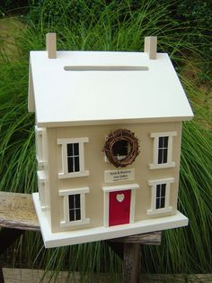 Wedding Card Post Box House Love It