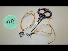 DIY! 2 sposoby na regulowaną bransoletkę ze sznurka [karlowe] - YouTube