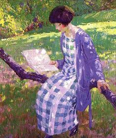 Late Summer (1924).Herman Wessel (USA, 1878-1969). Oil on canvas.Cincinnati Art Museum, Cincinnati, Ohio.