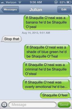 Shaquille o'feel