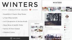 Winters - A Responsive Wordpress Blog Theme