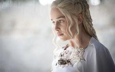 Scarica sfondi l'attrice inglese, emilia clarke, game of thrones, serie, daenerys targaryen