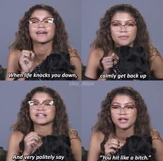 Zendaya Gets Real About Police Brutality: 'I'm Terrified For My Father and Brothers' - zendaya quotes memes - Crazy Funny Memes, Really Funny Memes, Stupid Memes, Funny Relatable Memes, Haha Funny, Funny Texts, Funny Jokes, Hilarious, Top Funny