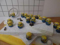 Sooo süß: der Minions - Adventskalender - #OBI Selbstgemacht! Blog. Selbstbauanleitung für jedermann. #DIY #xmas