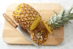 "How To Cut A Pineapple I ""Bite into fresh pineapple and you can almost taste the sunshine. But the pineapple's spiky crown, the tough, prickly rind — a whole pineapple can seem inhospitable, an impenetrable fortress. And so we rarely bother to buy them. But we should. Because a fresh pineapple is easy to cut up. And so worth it."""