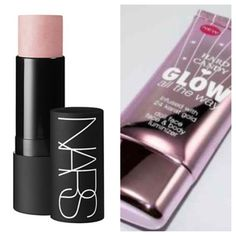 NARS The Multiple Luxor highlighter Dupe: Hard Candy Glow All The Way Doll Face
