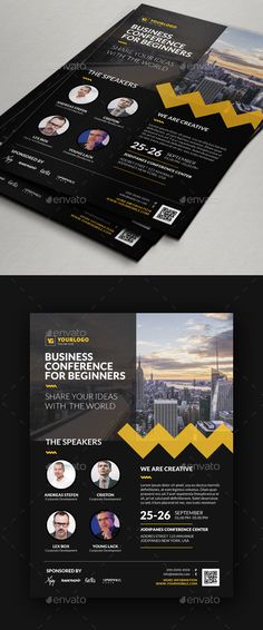 event summit conference flyer corporate flyers workstuff