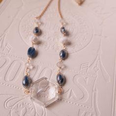 Vintage blue necklace