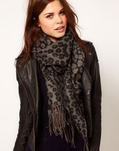 Animal Blanket Scarf