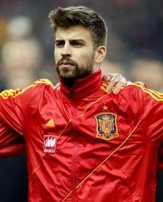 ¡Que suerte la de Shakira! Gerard Piqué, otro de los galanes de la Selección Española