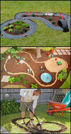 DIY Backyard Projects Perfect for summer – DIY bunkers - diy garden decor kids Playground Design, Backyard Playground, Backyard For Kids, Backyard Projects, Playground Ideas, Children Playground, Backyard Ideas, Backyard Patio, Outdoor Play Areas