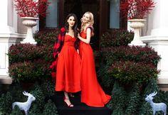 Fabulous Christmas with Fabulous Muses- Christmas Dress - Holiday Outfit - Diana Enciu - Alina Tanasa