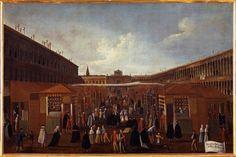 """""""L'antica fiera della sensa"""", 1779?-1792 #gabrielbella #querinistampalia"""