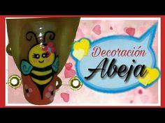 YouTube Nail Art, Nails, Youtube, Short Nails, Pedicures, Feet Nails, Nail Designs, Bees, Finger Nails