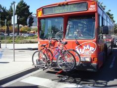 Find routes to work that you can both ride and take the bus to make your commute easier.